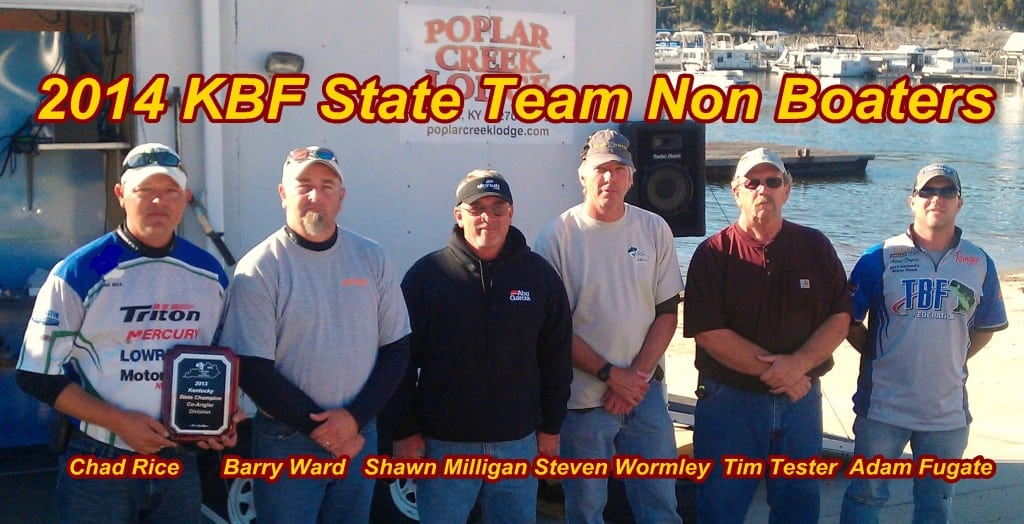 2014 State Team   Co-Anglers