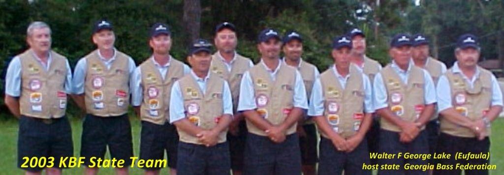 KBF State Team 2003